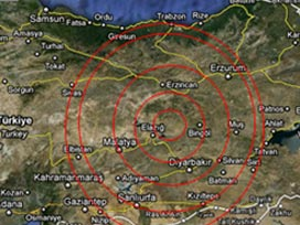 Elazığ'da deprem (08 Mart 2010)