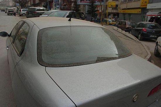 Eskişehir'e toz, Bolu'ya çamur yağdı galerisi resim 1