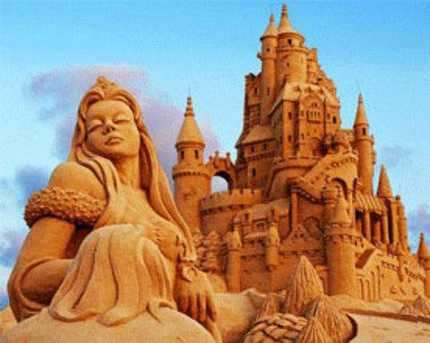 Muhteşem kum heykeller