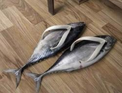 Güldüren ayakkabılar