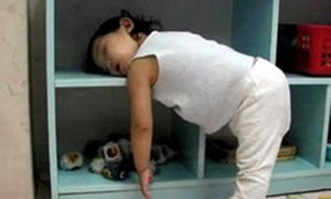 Komik uyku pozisyonları