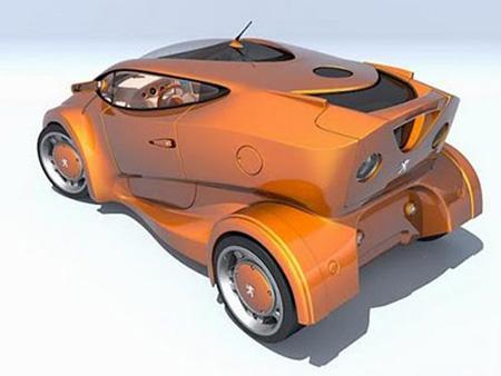 İlginç Araba Tasarımları galerisi resim 10