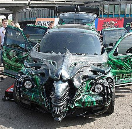 İlginç Araba Tasarımları galerisi resim 3