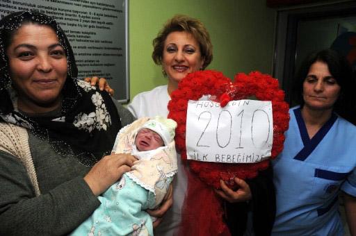 2010 Yılının ilk bebekleri galerisi resim 1