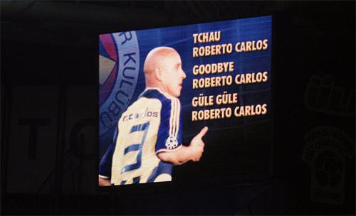 Fener Carlos'a böyle veda etti galerisi resim 5