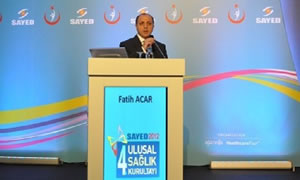 SGK Başkanı Fatih Acar: Bütçeden sağlık harcamalarına 47,8 milyar lira ayrıldı