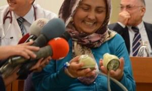 Türkiye'nin yapay kalpli ilk kadını