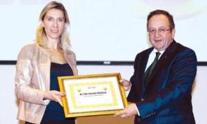 Akılcı İlaç Kullanımı Kampanyası'na ödül