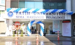 Fatih Üniversitesi Sema Hastanesi Ümraniye'ye poliklinik açtı