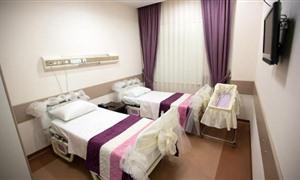 Sağlıkta 5 yıldızlı hizmet, anne oteli açıldı!