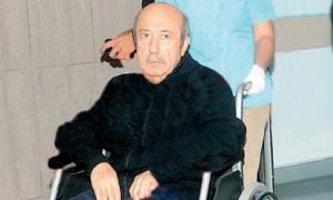 Kemal Unakıtan sağlık kontrolü için İsrail'e gitti