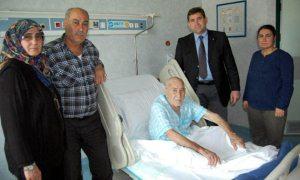 100 yaşında prostat ameliyatı oldu