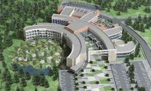 100 yataklı hastane inşaatı hızla devam ediyor