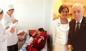 Bursalı iplik kralı Türkmenistan'ı online sağlığa taşıyacak