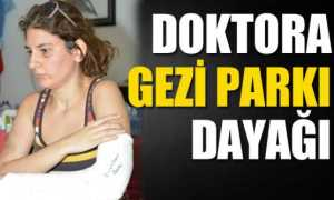 Doktora Gezi Parkı dayağı / Video
