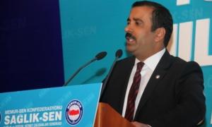 Sağlık-Sen Genel Başkanı Memiş Açıklaması