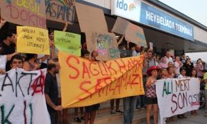 Heybeliada'da sağlık isyanı