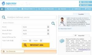 Sağlık Aktüel Mevzuat Portalı yayında