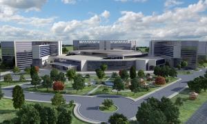 En büyük şehir hastanesinde 15 bin personel çalışacak