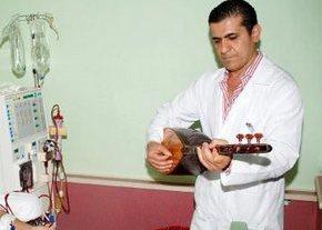 Doktor'dan hastalarına konser