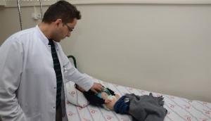 13 aylık bebek, kapalı yöntemle ameliyat edildi