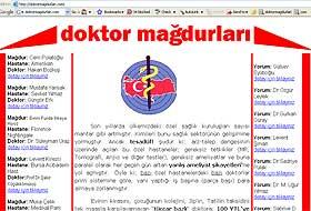 Doktor mağdurları internette birleşti