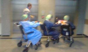Hastanede SKANDAL görüntü!