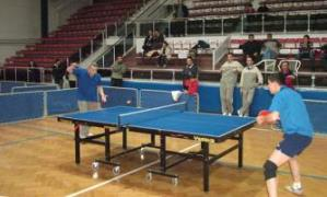 Hastanede tenis turnuvası