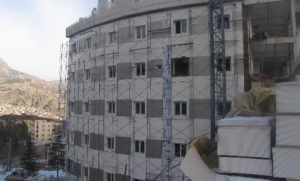 'Atıf Hoca Devlet Hastanesi' hızla ilerliyor