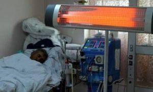 Bu hastanede ameliyat olacaksanız ısıtıcı getirin!