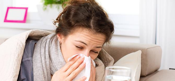 5 ayda 1 milyon kişi grip