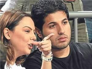 Gündeş'in eşi Zarrab hastaneye kaldırıldı!