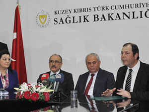 Kıbrıs Sağlık Bakanlığı ile SGK Arasında İşbirliği Protokolü İmzalandı