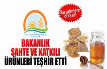 Gıda, Tarım ve Hayvancılık Bakanlığı sahtecilik yapan firmaları açıkladı!