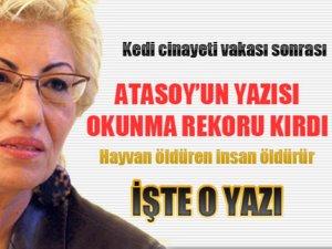 Türkiye'yi sarsan kedi cinayeti sonrası rekor kıran o yazı!