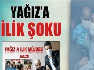 Lösemi hastası Yağız'a ilik şoku!