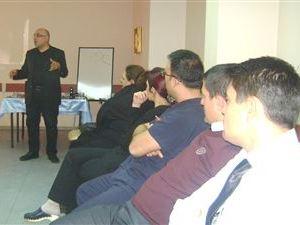 Hastane personeline stres eğitimi