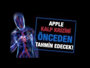 Apple kalp krizini önceden tahmin edecek!