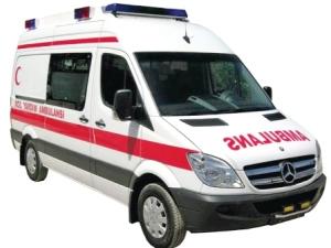 Ambulanslara 'acil' ince ayar