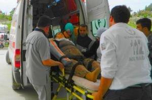 Osmancık'ta 9 Kişi Faciadan Kıl Payı Kurtuldu