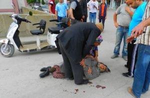 Osmancık'ta 3 Tekerli Elektrikli Bisikletten Düştüler