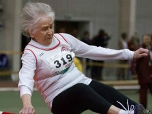 95 yaşındaki atletin sağlık sırrı