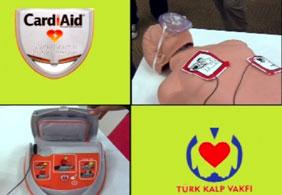 Cardiaid taşınabilir kalp şok cihazı