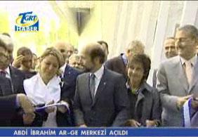 Abdi İbrahim Ar-Ge Merkezi açıldı