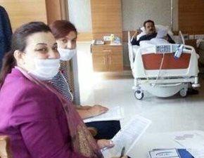 Bakan Faruk Çelik'ten ameliyat sonrası ilk fotoğraf