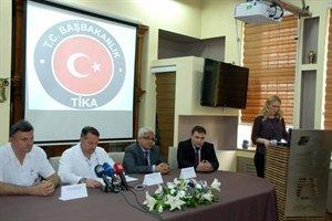 Tika'dan Bosna Hersek'e Sağlık Desteği