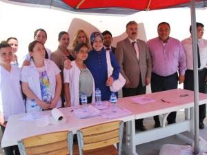 Aydın'da sağlık hizmetleri kadınların ayağına gitmeye başladı