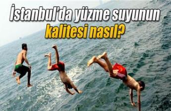İstanbul'da yüzme suyunun kalitesi nasıl?