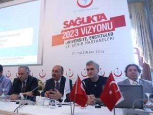 Müezzinoğlu, Sağlıkta 2023 Vizyonu programını açıkladı