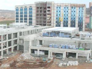 Yeni devlet hastanesi bayramdan sonra hizmete girecek